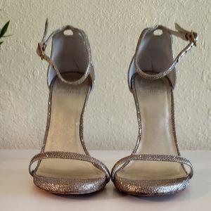 Stuart Weitzman Platinum Noir Nudist sandal 6